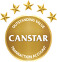 Canstar 5-star Rating 2018
