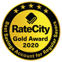 Awarded RateCity's Gold award for the Best Savings Account in the Regular Savers Category 2020