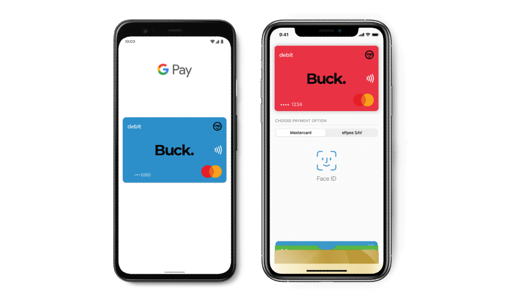 Digital wallet on an Android and Apple phone