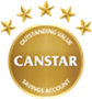 Canstar Online Savings Account 5-star Rating 2018
